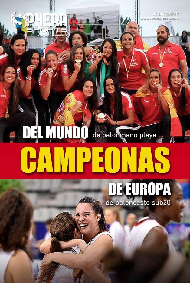 La portada de Sphera Sports... PERIODISMO.